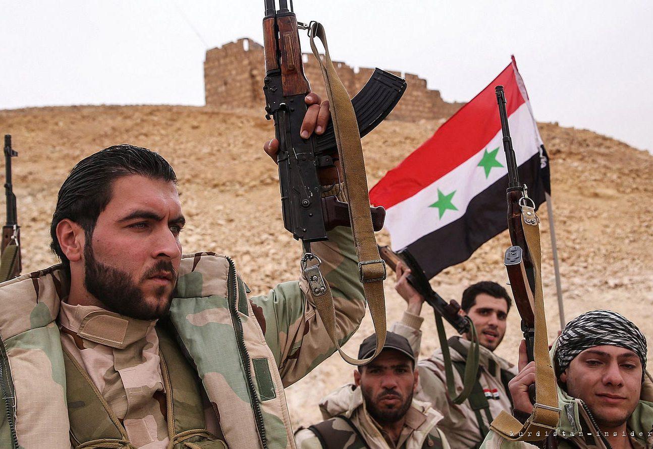 Путин: РФ хочет поднять боеспособность армии Сирии