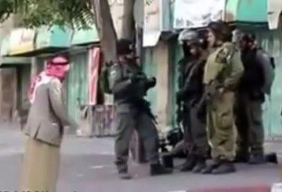 Как израильские силовики поступают с палестинскими пацифистами (ВИДЕО)