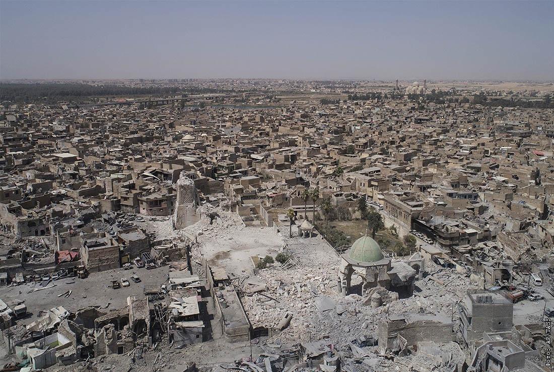 Встарой части Мосула под контролемИГ осталось только 300 квадратных метров