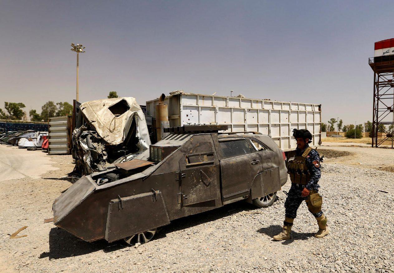 В Ираке открылась выставка машин смертников ИГИЛ (ФОТО)