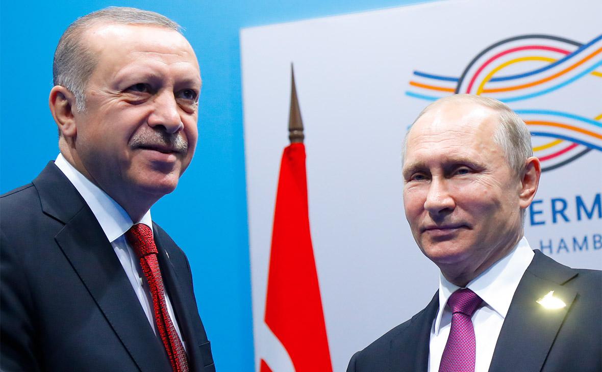 Путин и Эрдоган в Германии на саммите G20