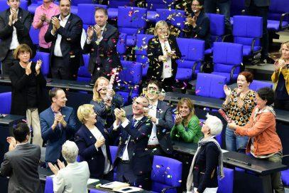 Все 6 мусульман-депутатов Бундестага голосовали за однополые браки