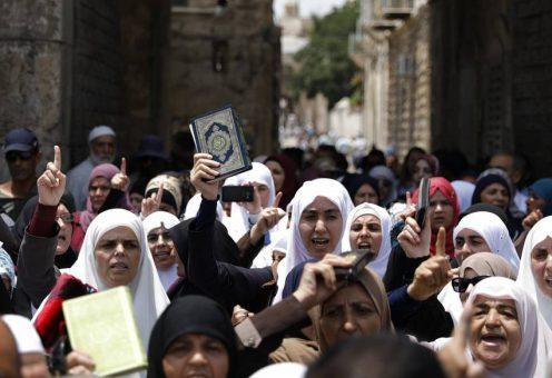 Аль-Акса: реакция мусульман, сигнал из Чечни и красная черта для Нетаньяху