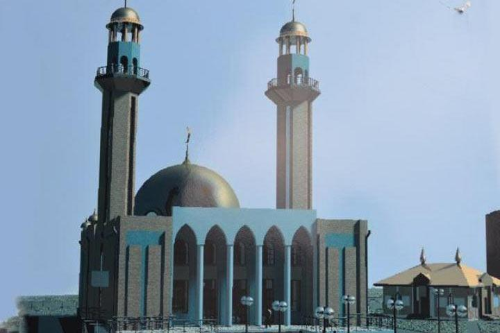 Проект мечети Абакана
