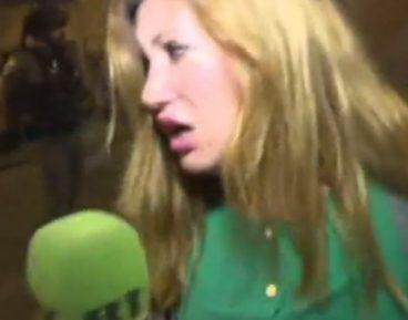 Нападение израильских силовиков на журналистку RT попало на видео