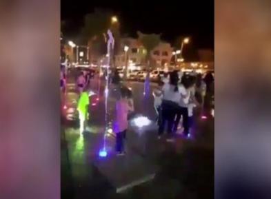 Кувейтянка впала в ярость при виде детей гастарбайтеров (ВИДЕО)