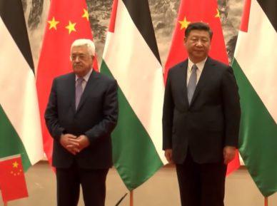Китай, воспользовавшись моментом, предложил свой план урегулирования в Палестине