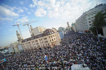 Мэра Москвы Собянина пригласили на самый большой в России асфальтный намаз