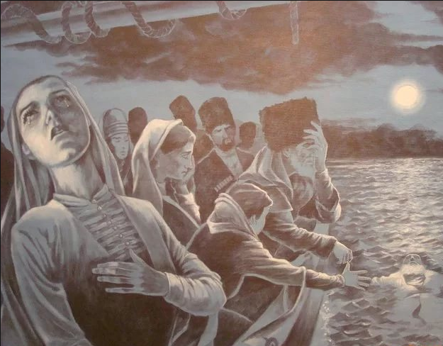 Население Кавказа подверглось истреблению и изгнанию
