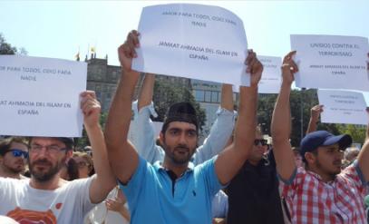 В Барселоне мусульмане провели шествие против терроризма