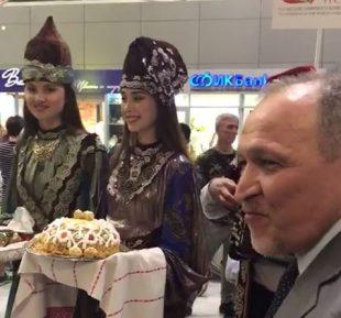 Саудовские татары прибыли в Казань (ВИДЕО)