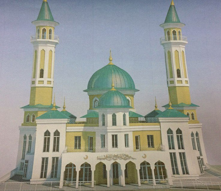 Так должна выглядеть новая пермская мечеть