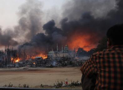 Власти списали шокирующие акты насилия над мусульманами рохинья на «экстремистских террористов»