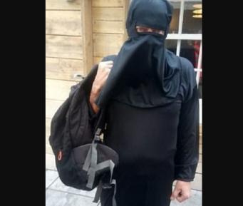 Мужчина в никабе поверг в ужас посетителей торгового центра, те вызвали ОМОН