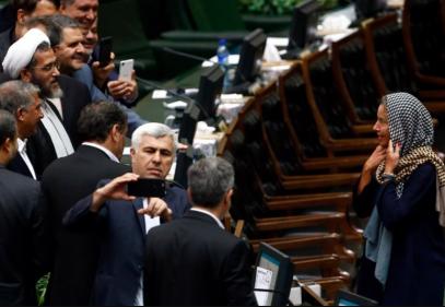 «Дикие» иранские депутаты вогнали в краску главу дипломатии ЕС