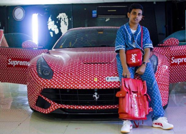 15-летний сын арабского миллиардера разозлил пользователей соцсетей (ВИДЕО)
