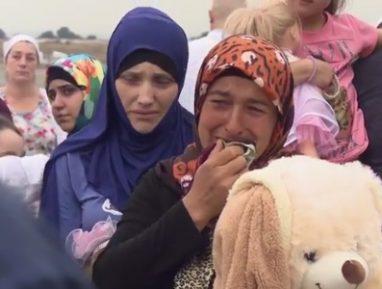 Вернувшиеся из ада. Опубликовано трогательное видео встречи дагестанских детей