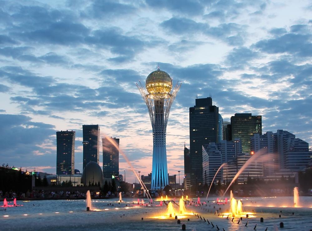 Астана - символ развивающегося Казахстана