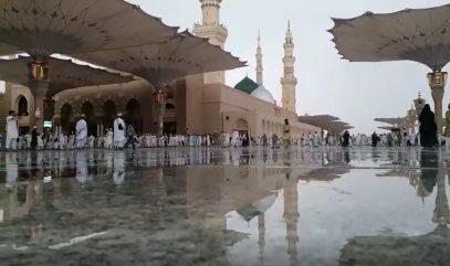 Святые места встречают паломников дождем (ВИДЕО)