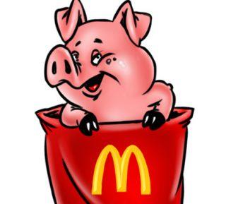 Работники «Макдоналдс» подсунули мусульманам свинью (ВИДЕО)