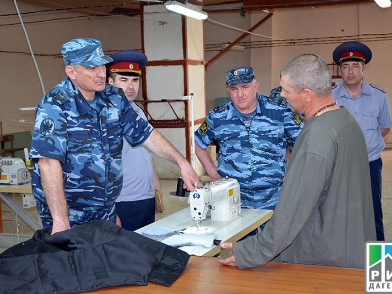 Муслим Даххаев инспектирует одну из колоний. Фото: РИА Дагестан