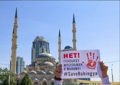 Миллионный митинг в Грозном