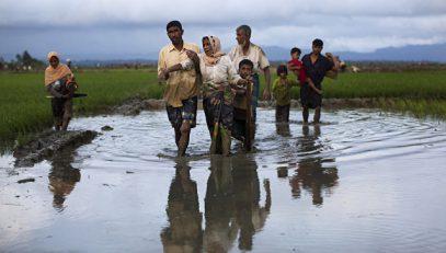 Китай направил помощь мусульманам Мьянмы