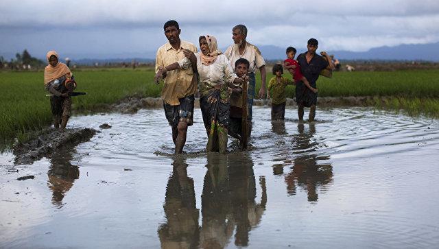 Число беженцев рохинджа может возрасти до700 тыс.