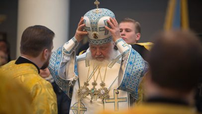 Патриарх Кирилл:  Кто со мной не согласен – на пенсию!