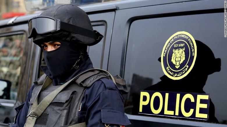 Египетский полицейский