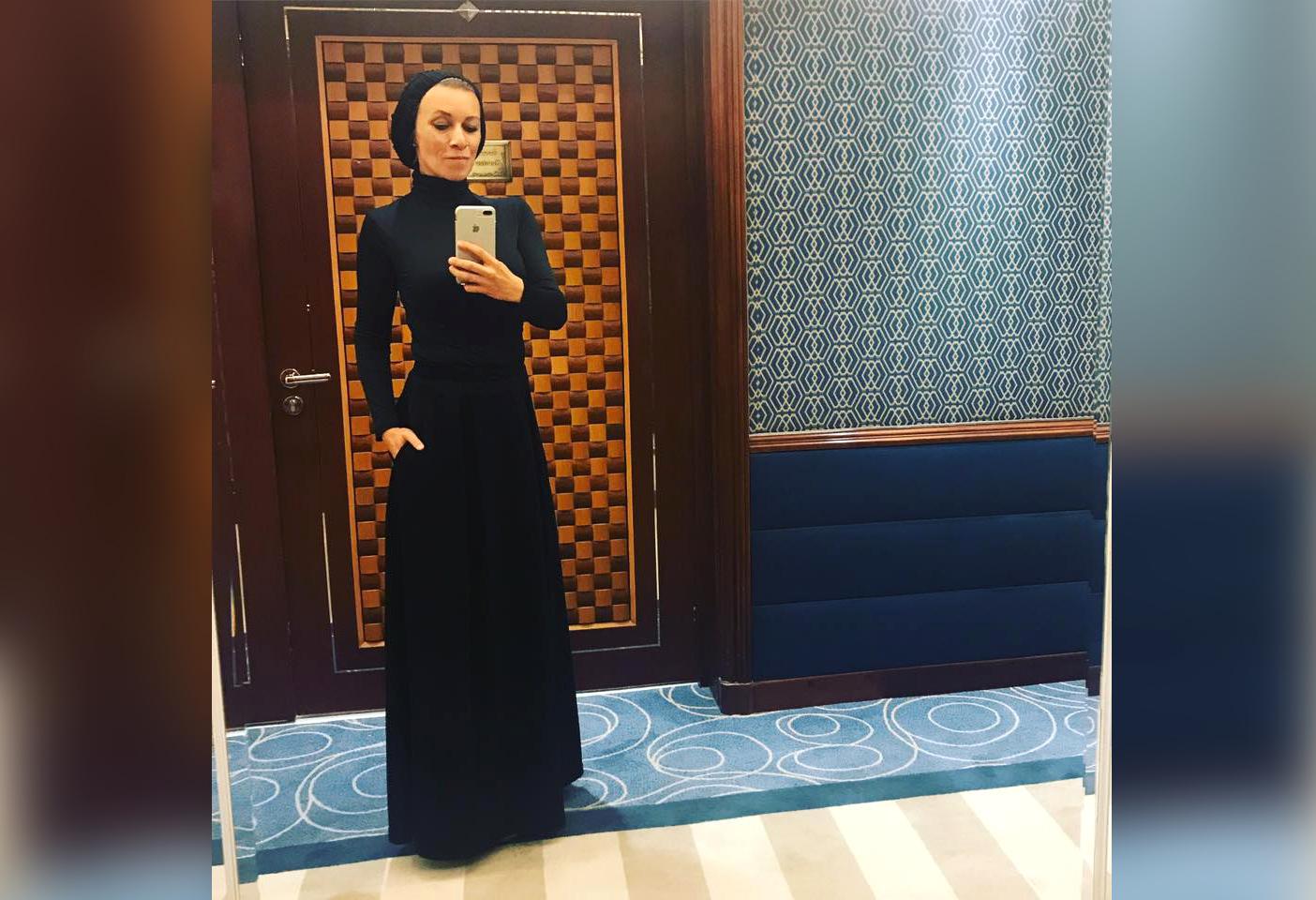 В соцсетях поразительно отреагировали на хиджаб официального представителя МИД РФ