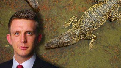 Журналиста, ведущего западного издания, загрыз крокодил