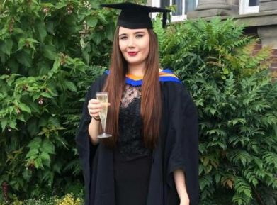Сломавшая жизнь таксисту-мусульманину студентка Софи понесла наказание
