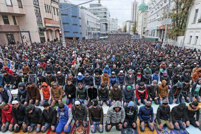 В МВД насчитали 200 тыс. празднующих Курбан-байрам в Москве