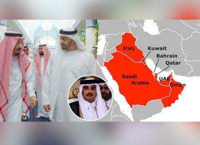 Арабские страны отреагировали на слухи о скорой войне с Катаром