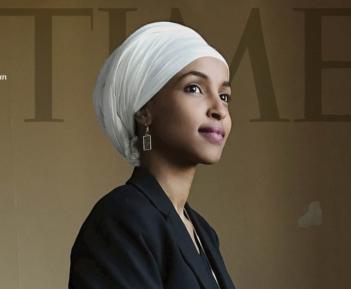 Политик в хиджабе украсила обложку TIME