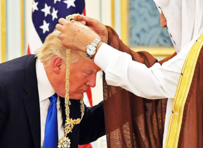Список подарков Саудовской Аравии Трампу поражает воображение