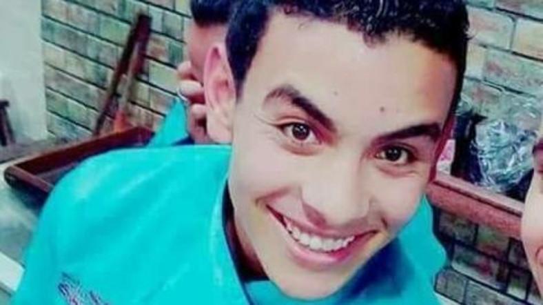 Один из погибших египтян