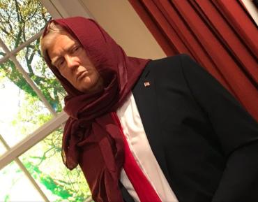 Фото «сестры Дональды» — ответ исламофобам на понятном им языке