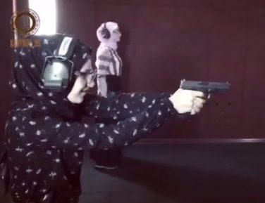 Женское дело. Кадыров показал стреляющих дочерей