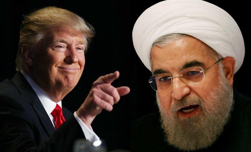 Дональд Трамп и Хасан Роухани