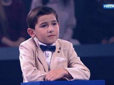 Мальчик-калькулятор из Азербайджана поразил зрителей канала «Россия 1»