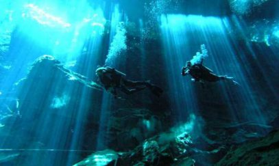 Арабские археологи нашли под водой древний город