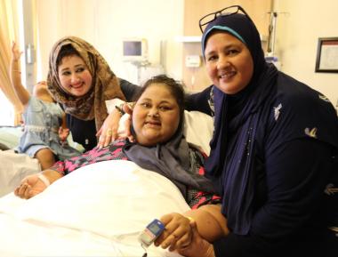 Оборвалась жизнь самой тяжеловесной женщины в мире Иман