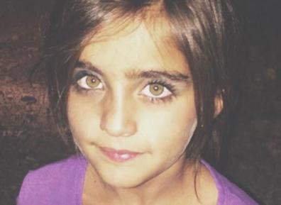 Зеленоглазая иракская нищенка поражает красотой (ФОТО)