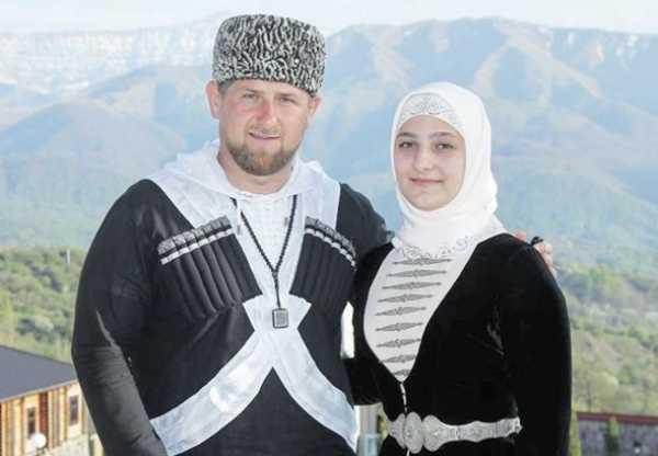 Рамзан Кадыров с дочерью