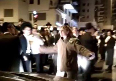 В Иерусалиме девушка-солдат отомстила толпе иудеев-ортодоксов за «шлюху» (ВИДЕО)