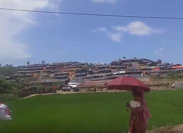 Нескончаемые палаточные лагеря народа рохиньи