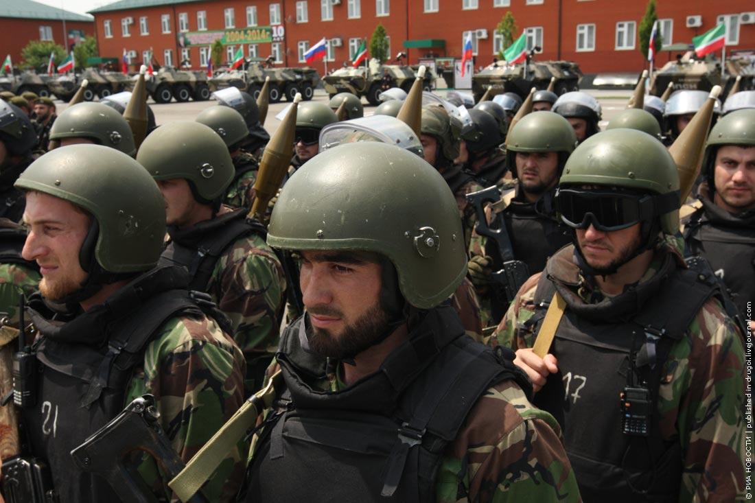Чеченский спецназ. Фото: РИА Новости