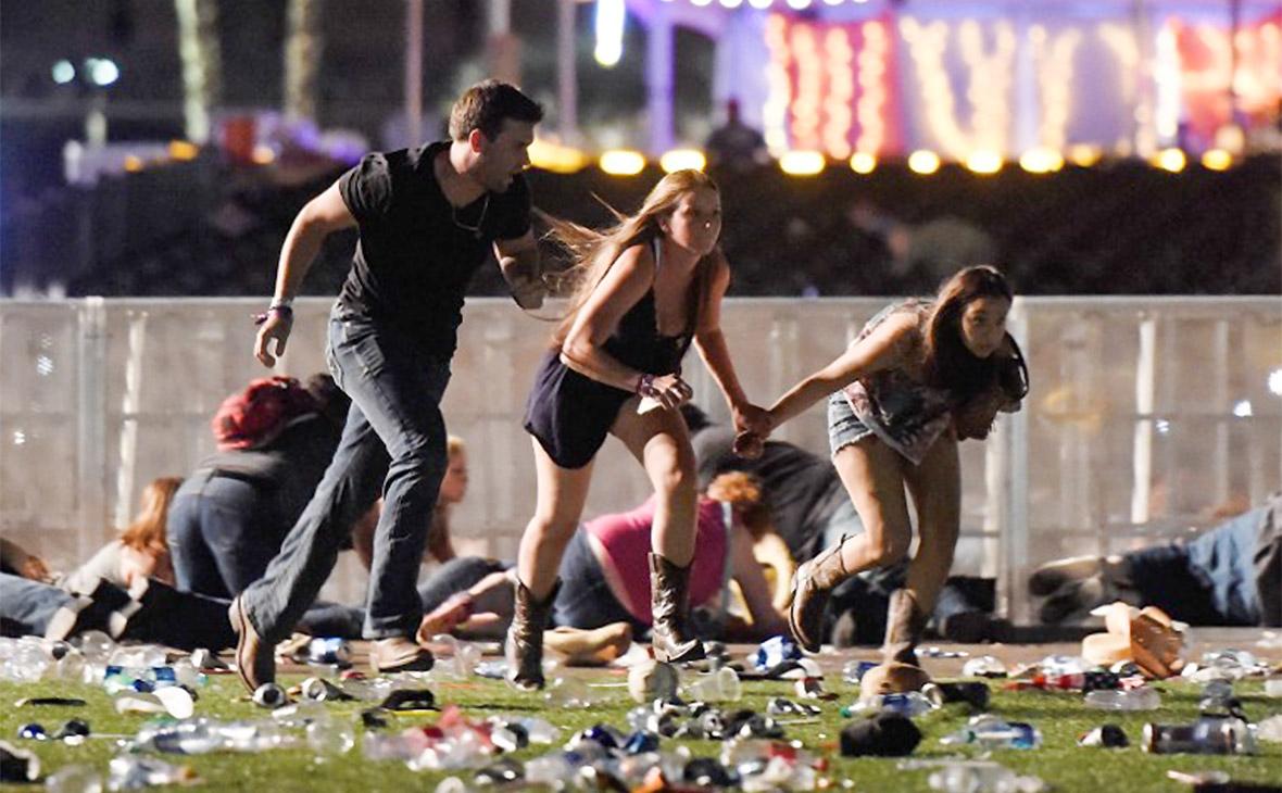 Участники фестиваля в Лас-Вегасе